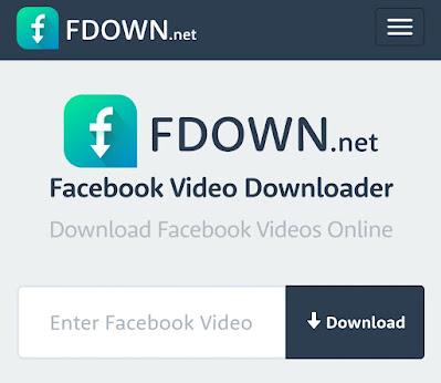 fdown - FB Video Downloader