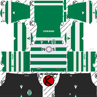Sporting CP 2019/2020 Kit - Dream League Soccer Kits