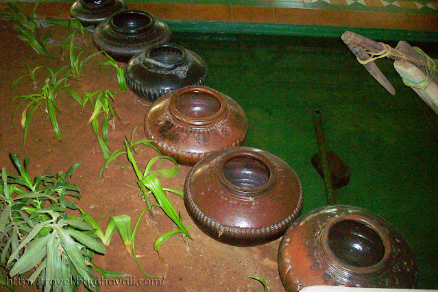 Vintage household Items used in India - Terracotta pots