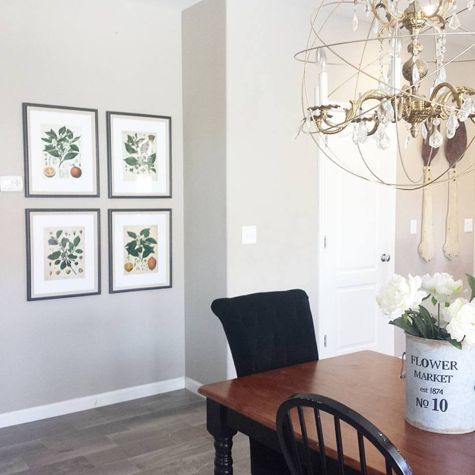 diy fixer upper inspired botanical prints with free printables
