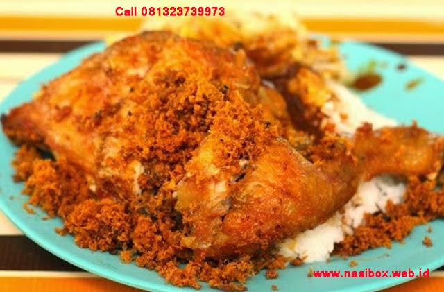 Resep ayam goreng ala padang nasi box kawah putih ciwidey