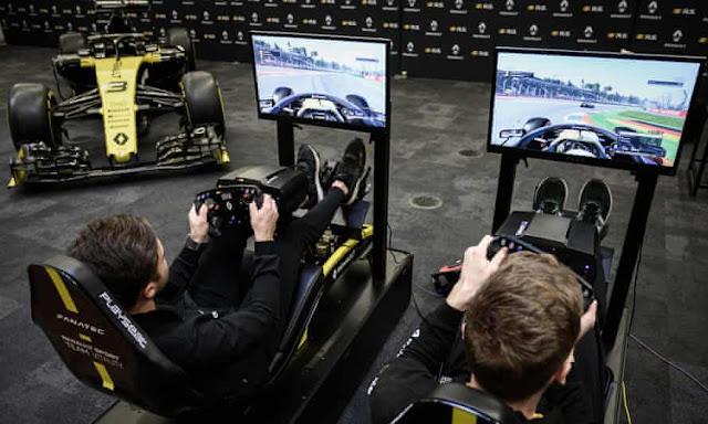 Formula 1 race games: