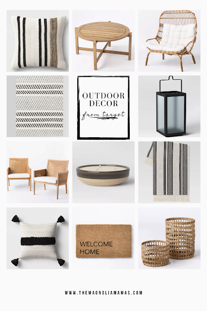 Neutral Outdoor Decor from Target