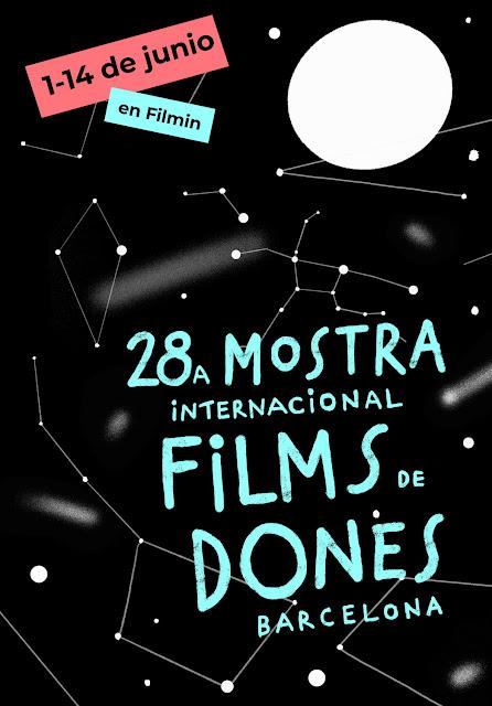 Cartel 28ª Muestra Internacional de Cine de Mujeres de Barcelona