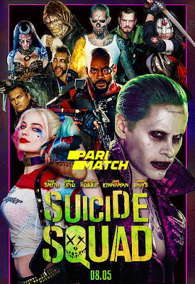 Suicide Squad 2016 Dual Audio HQ Hindi 720p Bluray Download