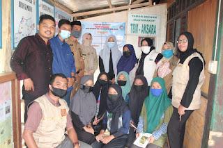 Wakil Bupati Sinjai Kunjungi TBM Aksara di Desa Kalobba