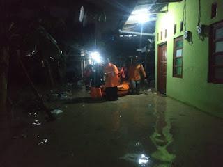 Malam Cap Gomeh Kota Cirebon Di Guyur Hujan Hingga Banjir Melanda Beberapa Tempat Di Cirebon