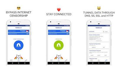 Ntel Unlimited Free Browsing Cheat Using TunnelCat VPN