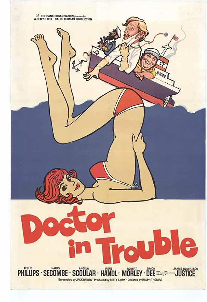 Doctor In Trouble 1970 250MB DVDRip Dual Audio