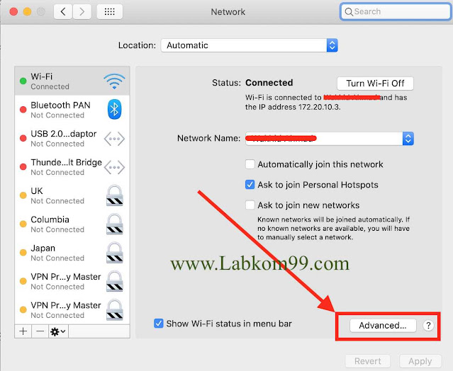 DNS Probe Finished No Internet Pada Browser MacBook