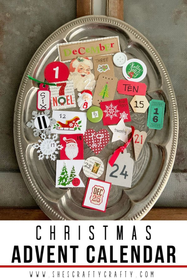 How to make a cute advent calendar for Christmas