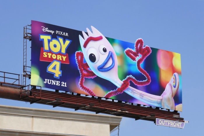 Toy Story 4 Forky billboard
