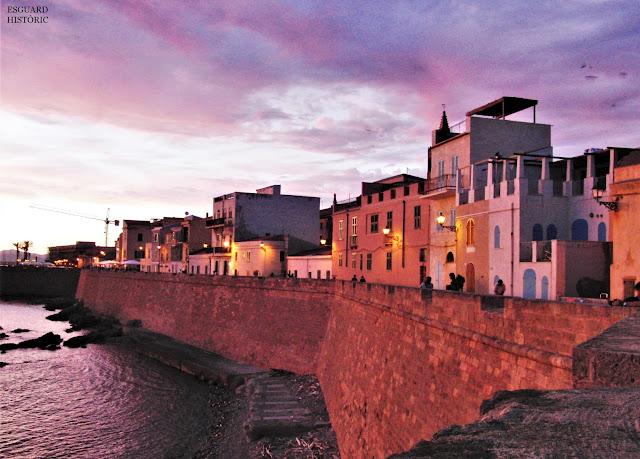 Vespre a les muralles de l'Alguer