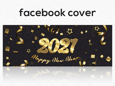 2021 New year facebook cover
