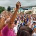(+Fotos) La multitudinaria marcha Por la Paz convocada por el Obispo de Trujillo