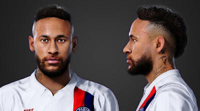 PES 2020 Faces Neymar Jr by Yeshua Facemaker