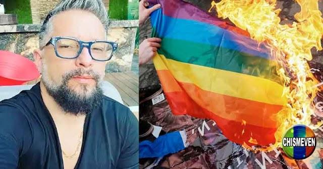 Irrael Gómez le da hasta con el tobo a los que celebran el Día del Orgullo Gay