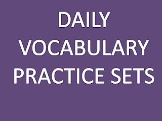 Daily Vocabulary Practice set- 16