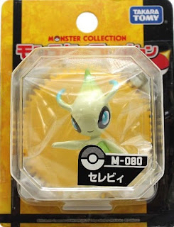 Celebi figure Tomy Monster Collection M series
