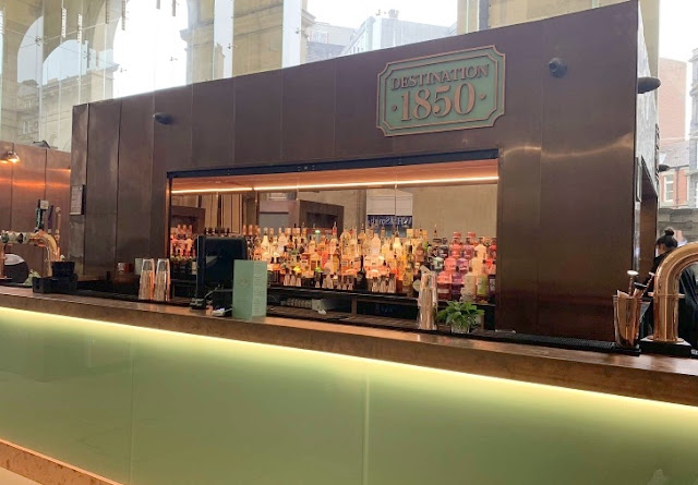 bar area at Destination 1850 Newcastle