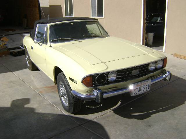 Daily Turismo: Needs More Engine: 1971 Triumph Stag