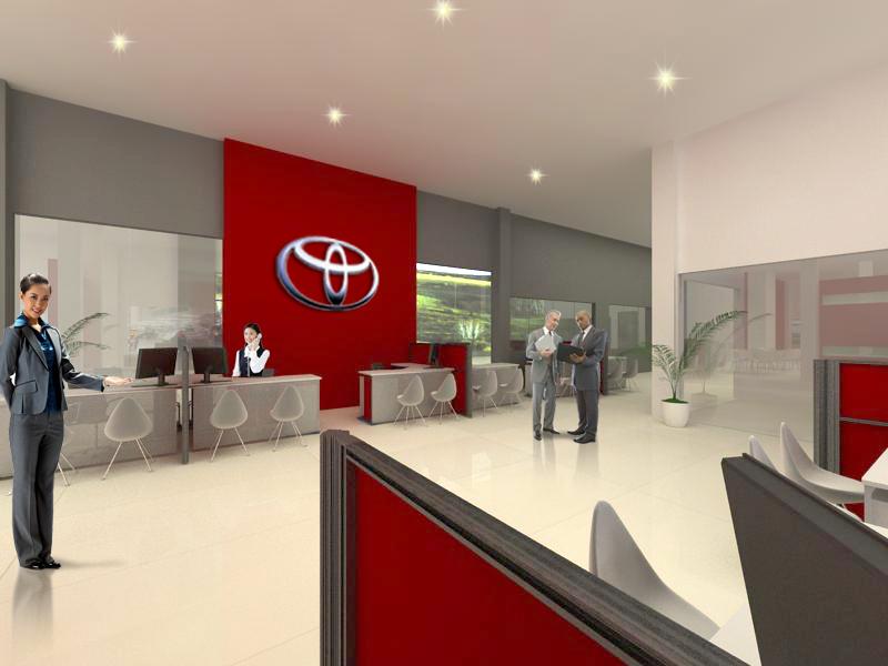 BS Design Studio Toyota Showroom and Service Center