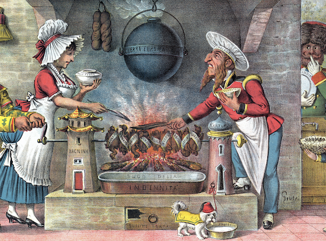 Husband & Wife cooking middle ages
