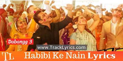 habibi-ke-nain-song-lyrics