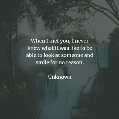 Love when in we fall someone and meet Quote by