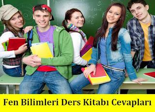 6. Sınıf Fen Bilimleri Tuna Matbaa Yayınları Ders Kitabı Cevapları