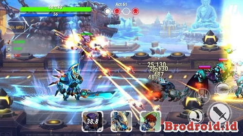 Download Game Heroes Infinity Mod Apk 1.3.0 Unlimited Money Update Terbaru