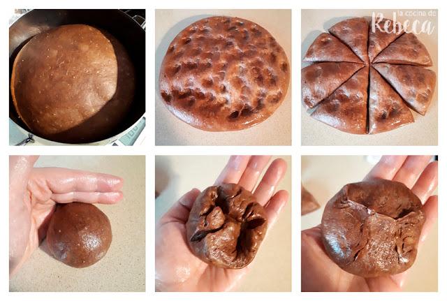 Receta de roscón de Reyes de chocolate: el formado