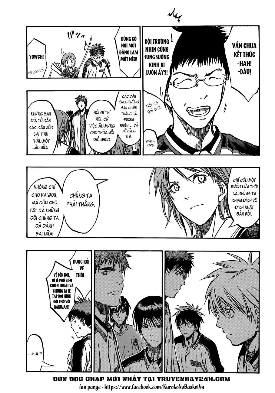 Kuroko No Basket chap 203 trang 14
