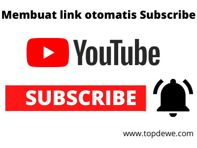 Cara Membuat Link Otomatis Subscribe Channel Youtube