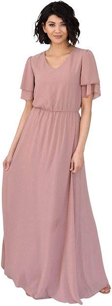 Best Quality Chiffon Bridesmaid Dresses With Sleeves