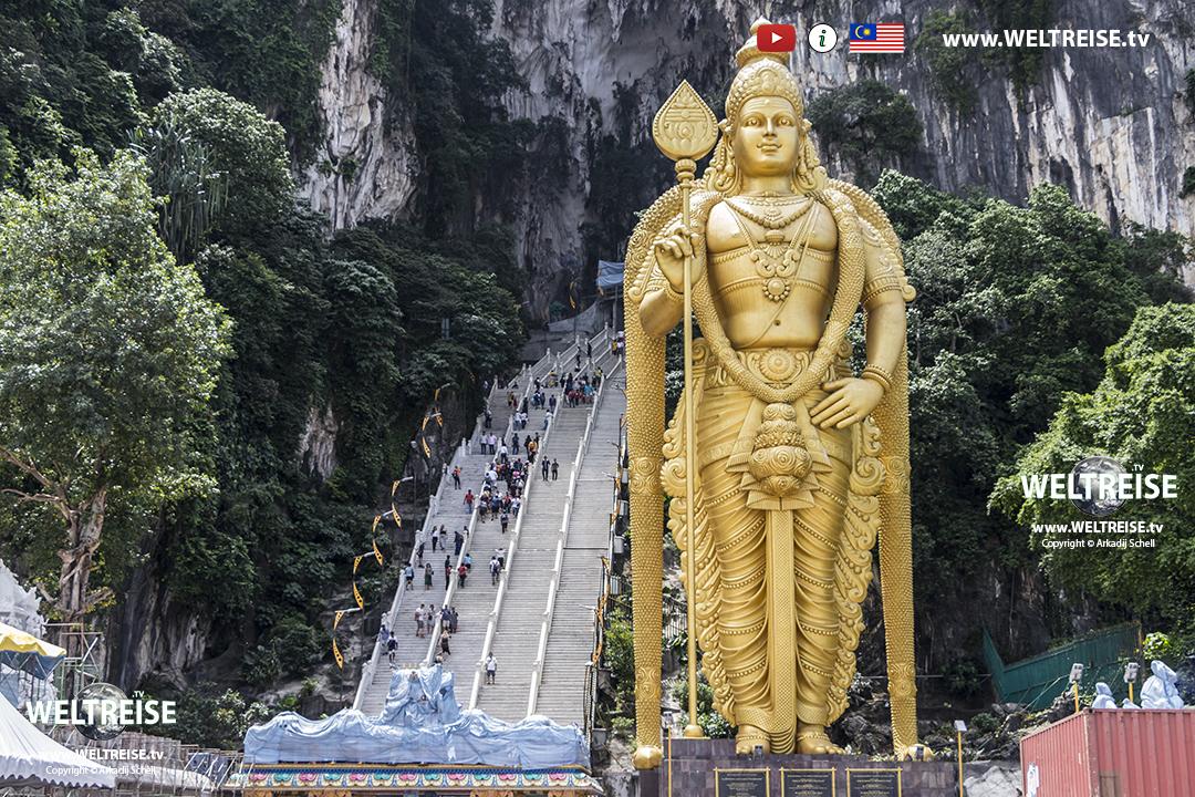 Batu Caves in Selangor | MUST HAVE! in Malaysia | www.WELTREISE.tv # 222