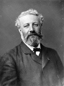 Jules Verne (1828-1905), escritor de Nadar