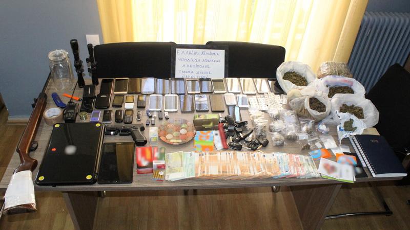 Εξαρθρώθηκε εγκληματική οργάνωση που διακινούσε ναρκωτικά στο Νομό Έβρου