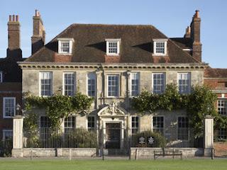 Salisbury, Regency, England, River Avon, street, house, Mompesson