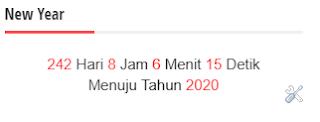 Tampilan Countdown Menggunakan Kode HTML Sendiri