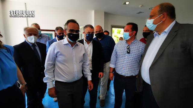 Στην Αργολίδα ο Αν. Υπουργός Υγείας Β. Κοντοζαμάνης (βίντεο)