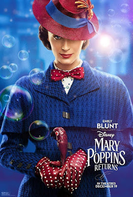 EL REGRESO DE MARY POPPINS - Cartel Emily Blunt