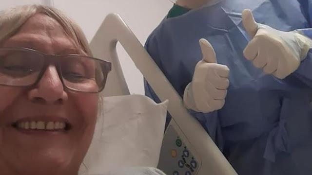 Está internada con Covid en Mar del Plata y prepara un libro para agradecer al personal de salud