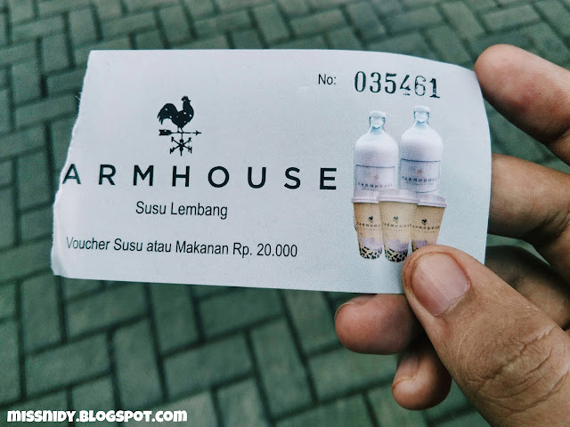 harga tiket masuk farm house susu lembang