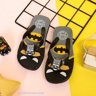 Sandal anak super hero