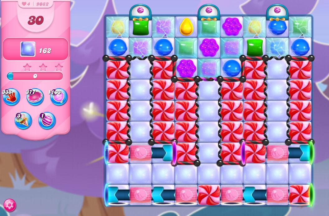 Candy Crush Saga level 9082