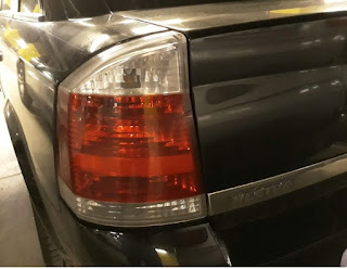 Vectra C rear light
