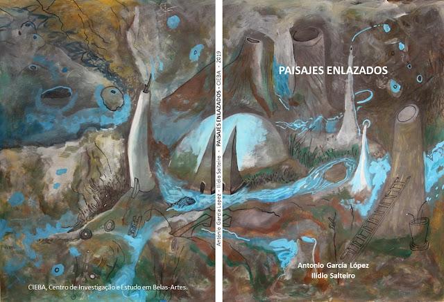 Paisajes Enlazadas, obras de Ilídio Salteiro com curadoria de Antonio García López