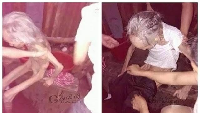 Дети превратили 90-летнюю мать в живую мумию, заточив ее в доме, чтобы не ухаживать за ней