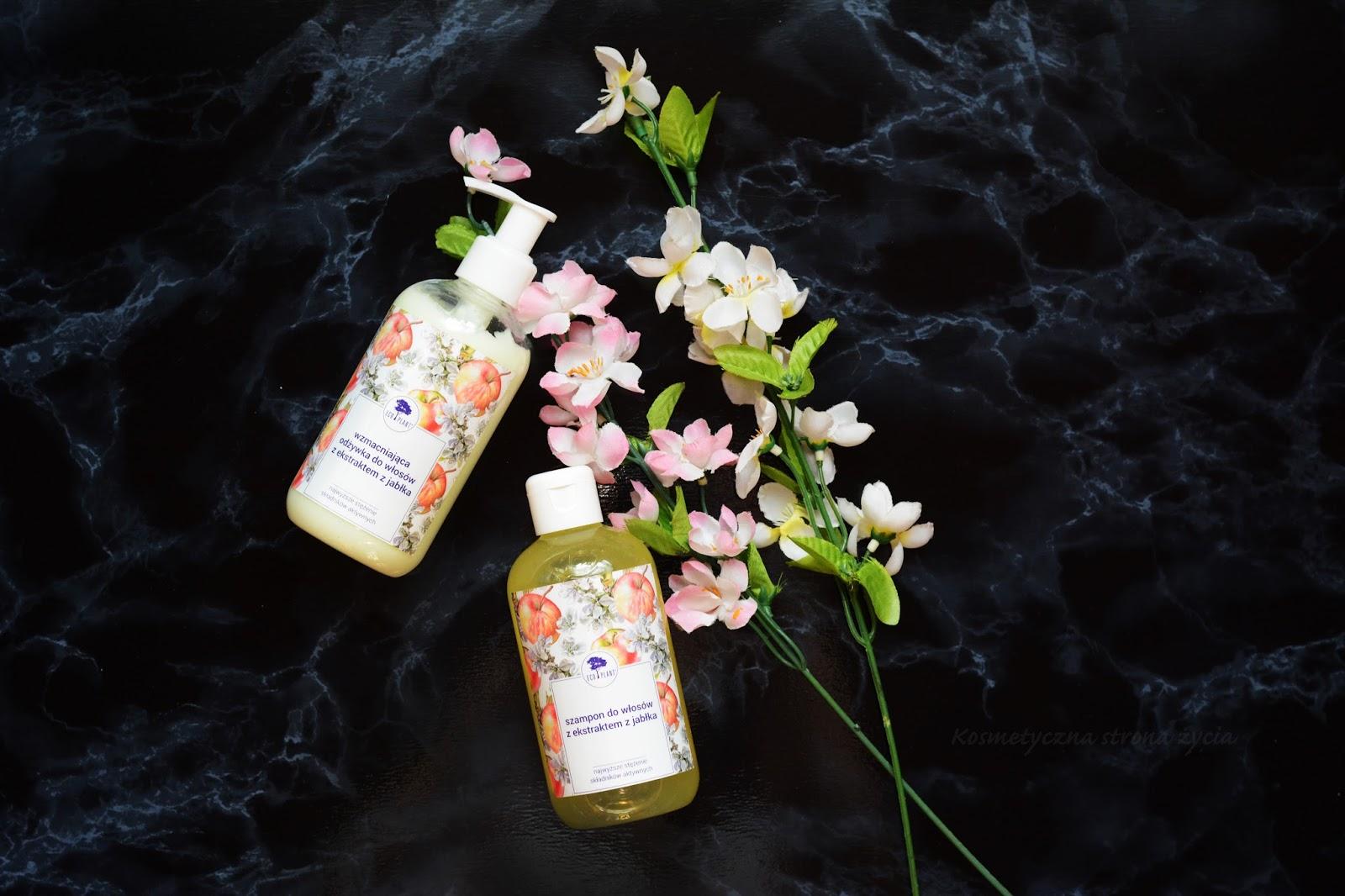 Eco Plant - szampon i odżywka z ekstraktem z jabłka